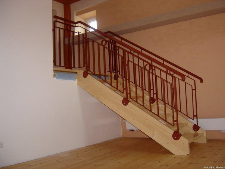 Treppengeländer Holzhandlauf ~ Treppengeländer mit Holzhandlauf